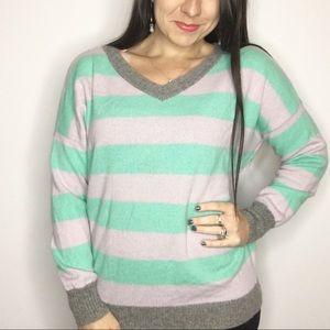 Victoria Secret 100% cashmere V-Neck sweater